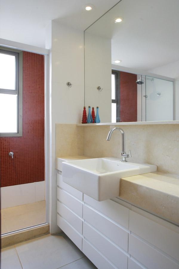 MorasBessone Arquitetos  cuba de semiencaixe -> Cuba Para Banheiro De Encaixe